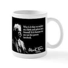 Mark Twain, Birth and Funeral, Mug