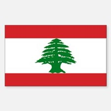 Lebanon Flag Decal