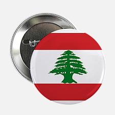 "Lebanon Flag 2.25"" Button (10 pack)"