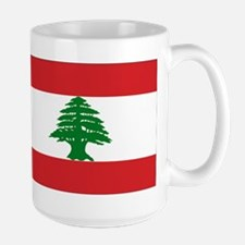 Lebanon Flag Mug