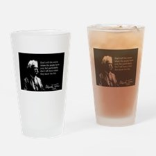 Mark Twain, Fish Stories, Drinking Glass