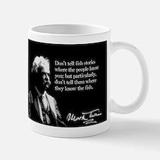 Mark Twain, Fish Stories, Mug