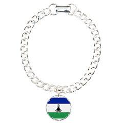 Lesotho Flag Bracelet