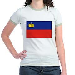 Liechtenstein Flag T