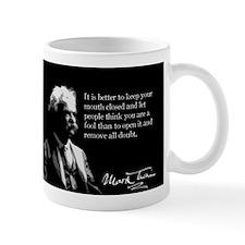 Mark Twain, Fool, Keep Quiet, Mug