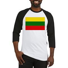 Lithuania Flag Baseball Jersey