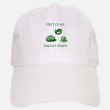 First Of All Fantasy Sports Baseball Baseball Cap