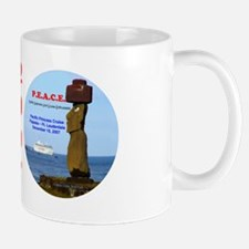 P.E.A.C.E. 2007 LOGO- Mug