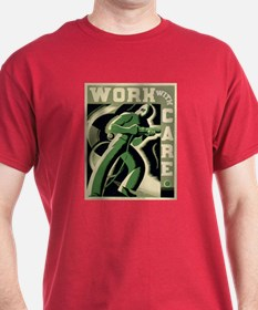 Work With Care WPA Poster T-Shirt