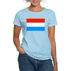 Luxembourg Flag Women's Light T-Shirt