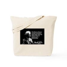 Mark Twain, Right Word, Wrong Word, Tote Bag
