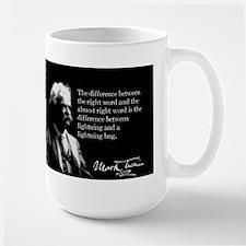 Mark Twain, Right Word, Wrong Word, Mug