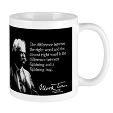 Mark Twain, Right Word, Wrong Word, Mug