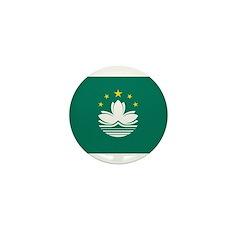 Macau Flag Mini Button (10 pack)