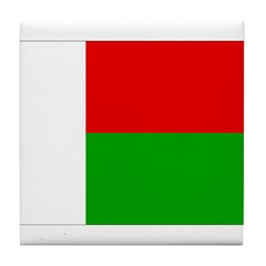 Madagascar Flag Tile Coaster