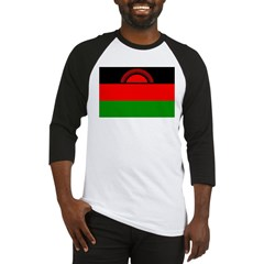 Malawi Flag Baseball Jersey