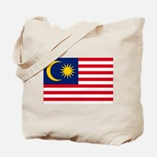Malaysia Flag Tote Bag