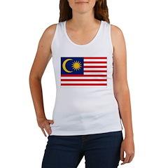 Malaysia Flag Women's Tank Top