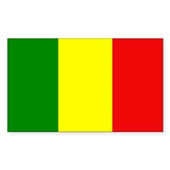 Mali Flag Decal