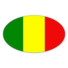 Mali Flag Decal