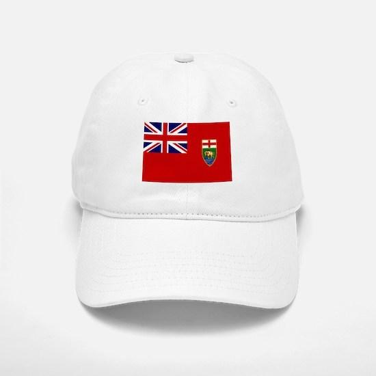 Manitoba Flag Baseball Baseball Cap