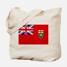 Manitoba Flag Tote Bag