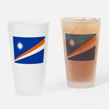 Marshall Islands Flag Drinking Glass