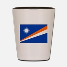 Marshall Islands Flag Shot Glass