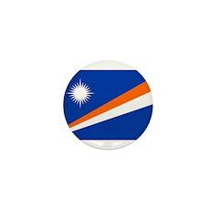 Marshall Islands Flag Mini Button (10 pack)