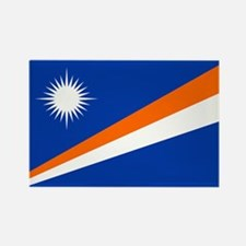 Marshall Islands Flag Rectangle Magnet