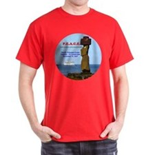 P.E.A.C.E. 2007 LOGO- T-Shirt