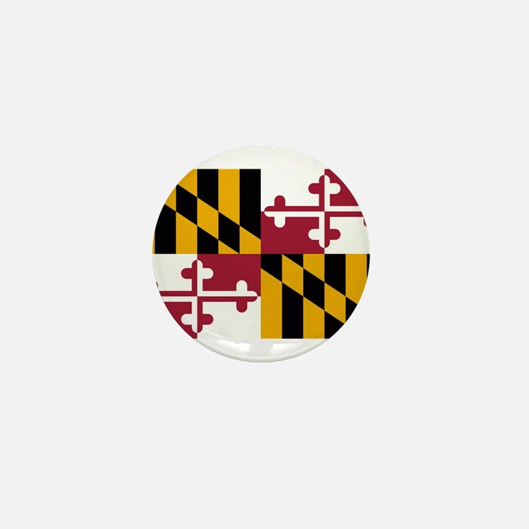 Maryland Flag Mini Button