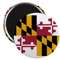 Maryland Flag 2.25