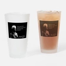 Mark Twain, Procrastination, Drinking Glass