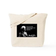 Mark Twain, Procrastination, Tote Bag