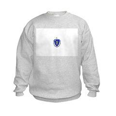 Massachusetts Flag Sweatshirt