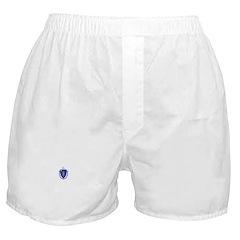 Massachusetts Flag Boxer Shorts