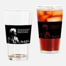 Mark Twain, Sinner, Salvation, Drinking Glass