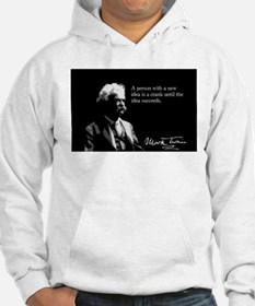 Mark Twain, New Ideas, Hoodie