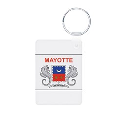 Mayotte Flag Keychains