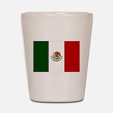 Mexico Flag Shot Glass
