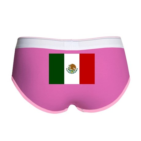 Mexico Flag Women's Boy Brief