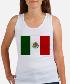 Mexico Flag Women's Tank Top