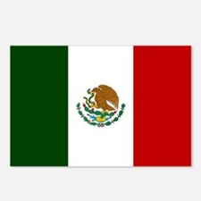 Mexico Flag Postcards (Package of 8)