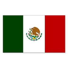 Mexico Flag Decal