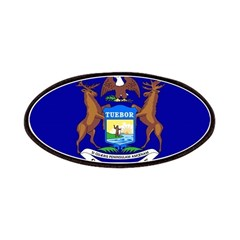 Michigan Flag Patches