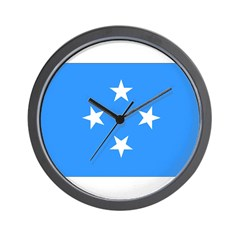 Micronesia Flag Wall Clock