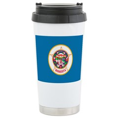 Minnesota Flag Travel Mug