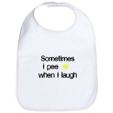Pee When I Laugh Bib