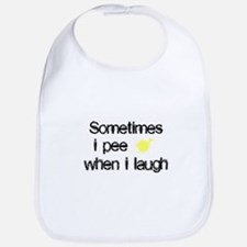 Pee When I Laugh Bib